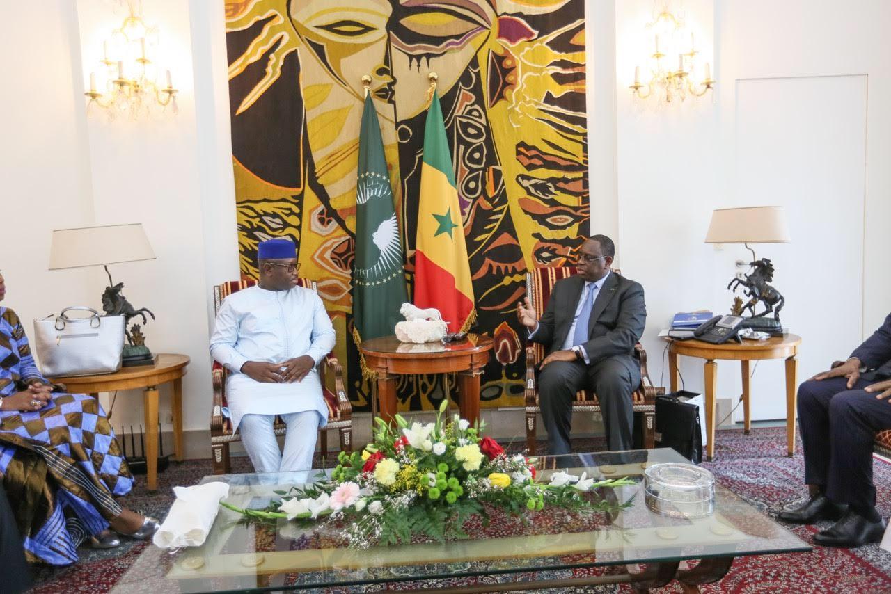 Visite de SE Julius Maada BIO Président élu de la République de Sierra Léone