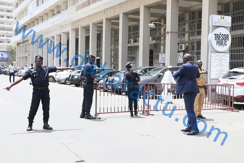 Assemblée nationale : La place Soweto barricadée