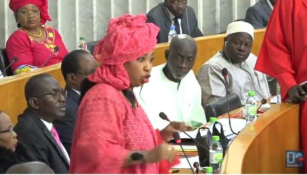 « M. le président, je vous demande de suspendre les débats » (Aïssatou Sabara)