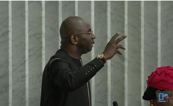 """Assemblée nationale : """"J'en appelle à la responsabilité et au retrait de ce projet de loi"""" (Moustapha Guirassy)"""