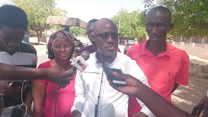 """Mbaye Sarr, coordinateur départemental de Rewmi à Kaolack: """" Si je suis activement recherché par la police, elle sait où j'habite et n'a qu'à me retrouver là bas"""""""