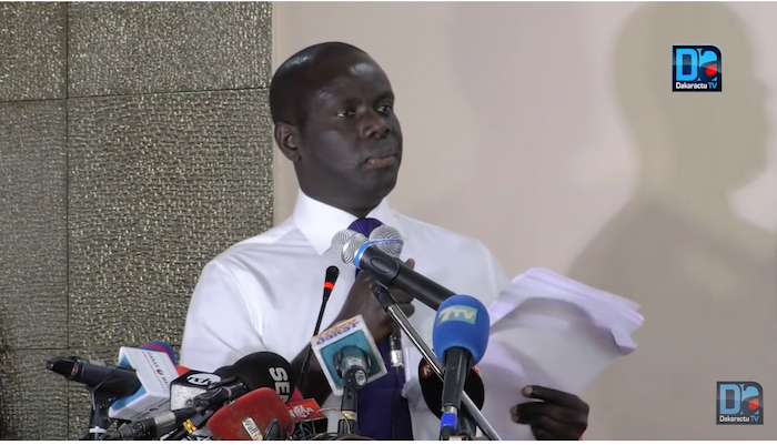 Gakou à sa sortie de prison : « Le Grand Parti a démontré sa détermination à ne ménager aucun effort pour la victoire des valeurs »