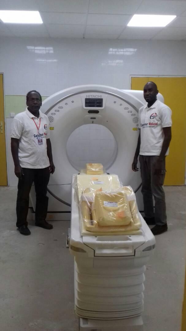Santé : la Société Carrefour médical installe à DANTEC un appareil de radiothérapie