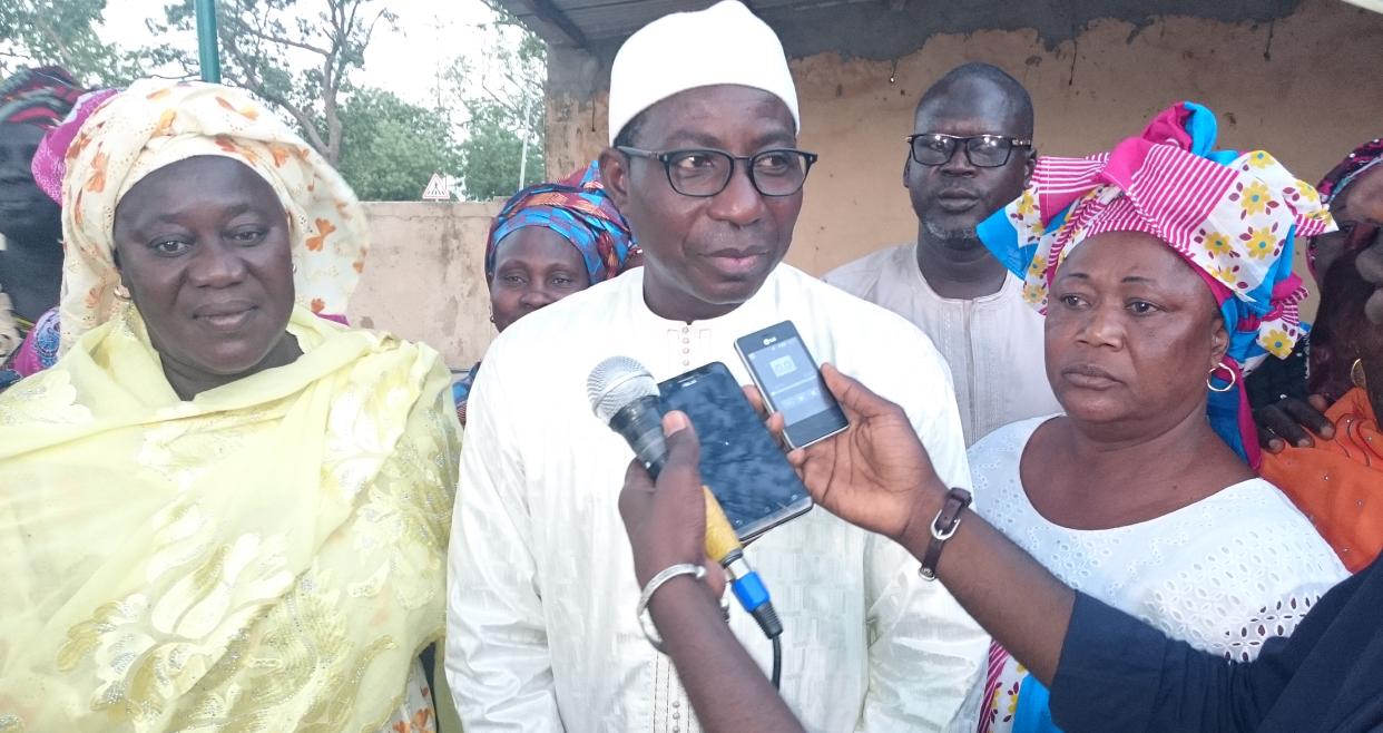 """Pape Songdé Diop sur la casse de la mairie de Gandiaye : """" Nous regrettons cet incident... Néanmoins ceux qui ont commis des délits devront être sanctionnés... """""""
