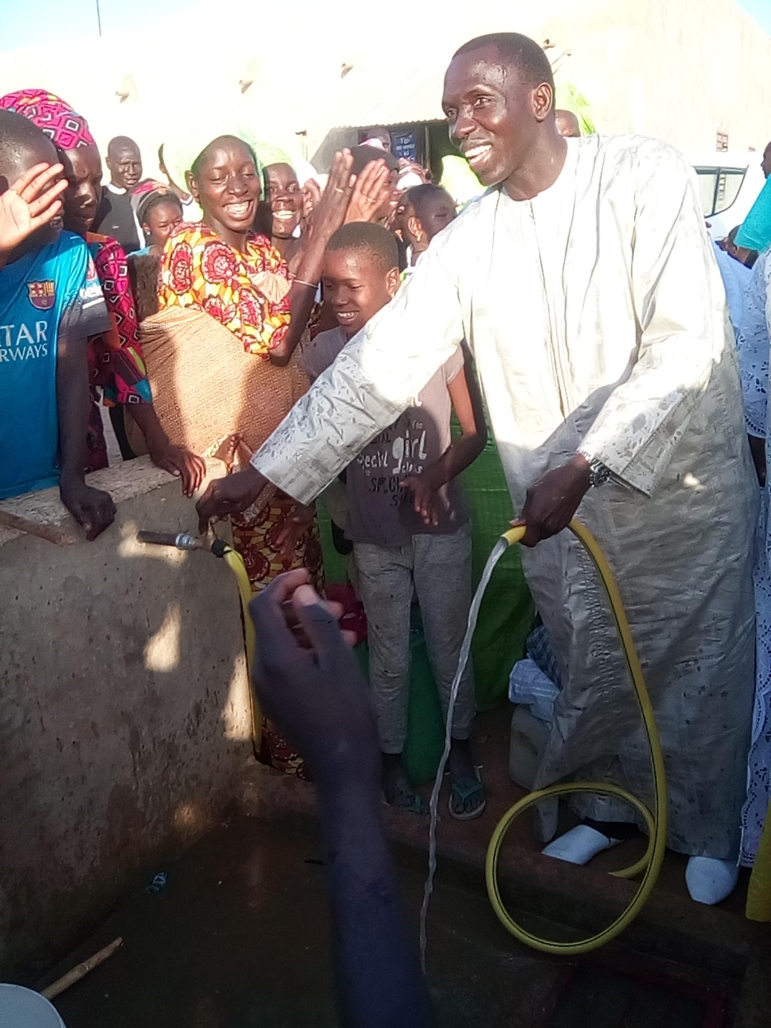 MALICOUNDA : Le manque d'eau en passe d'être résorbé par la Commune