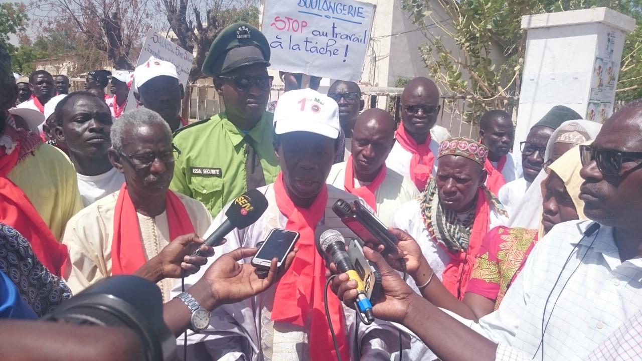 1er Mai / Kaolack : La Cnts porte les dossiers des 339 travailleurs des Salins du Sine-Saloum et de la commune de Kaolack