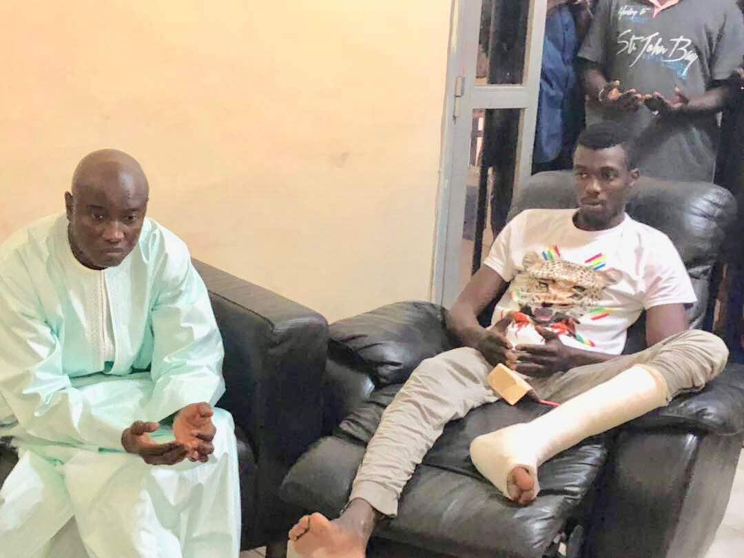 ACCIDENT MORTEL IMPLIQUANT UN VÉHICULE DE POLICE : Le ministre de l'Intérieur chez les familles des victimes