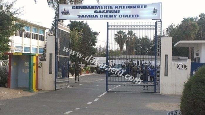 Ibrahima Sall vient d'être placé en garde à vue