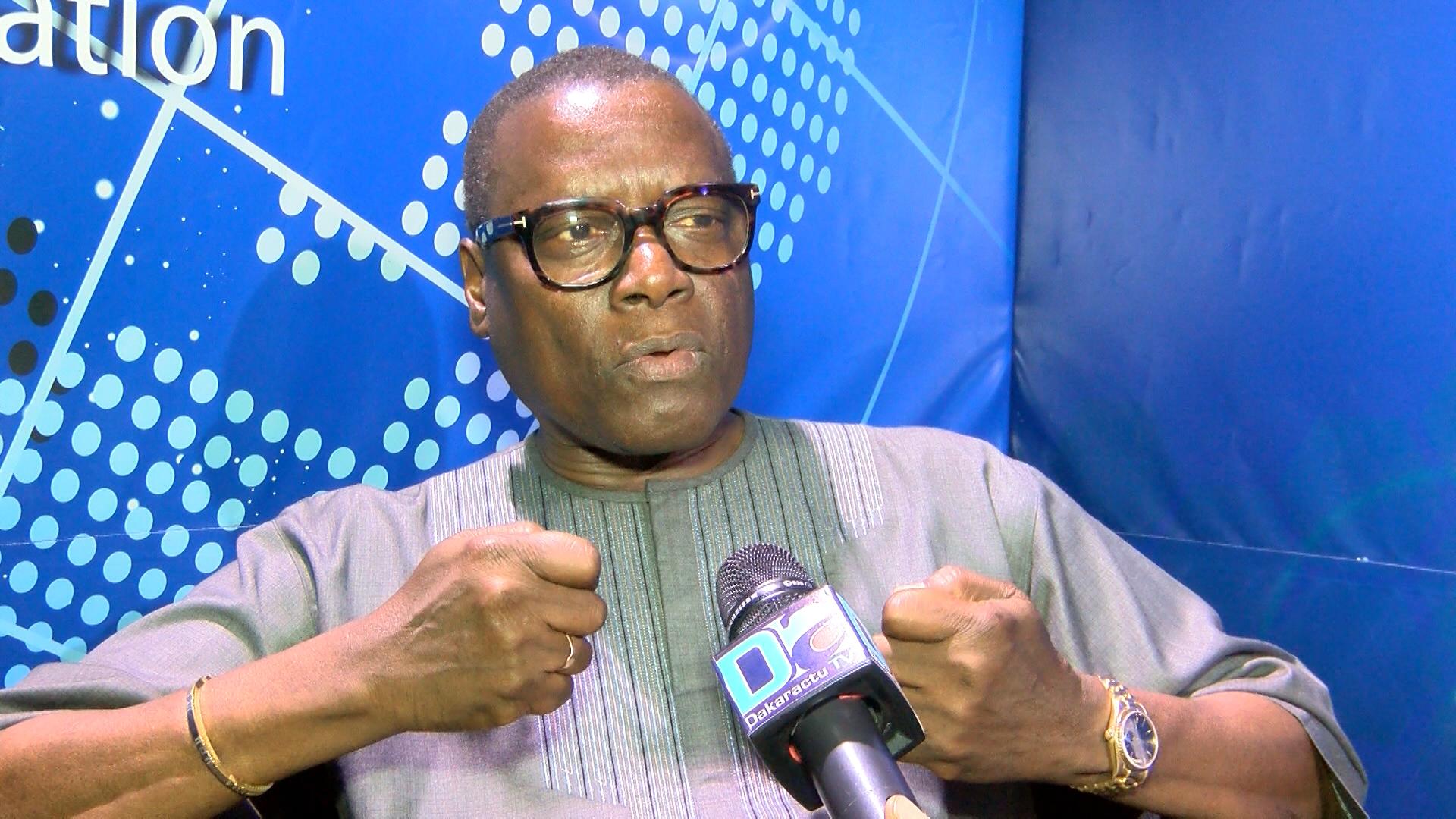 Pierre Atépa Goudiaby, candidat à la présidentielle de 2019