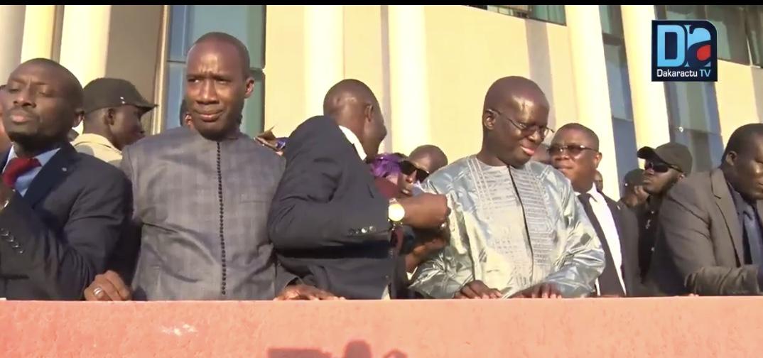 « Coalition pour une alternance démocratique/Disso » Samba Bathily salue la forte mobilisation