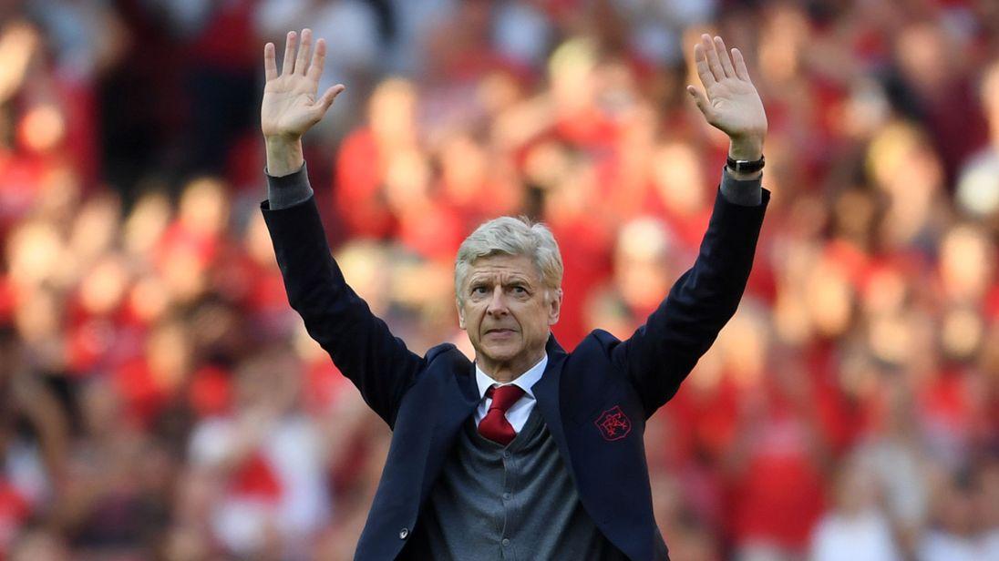 Arsenal : le discours d'adieu de Wenger