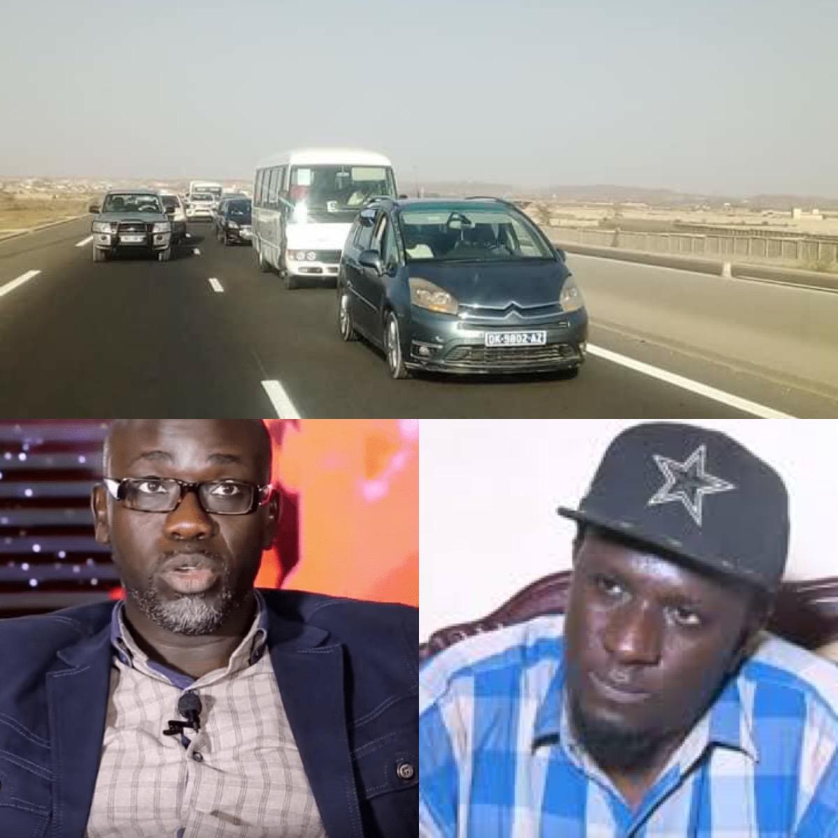 Recueillement à la mémoire des victimes de l'autoroute : Yérim seck, Simon Kouka et le frère de Papis Mballo arrêtés
