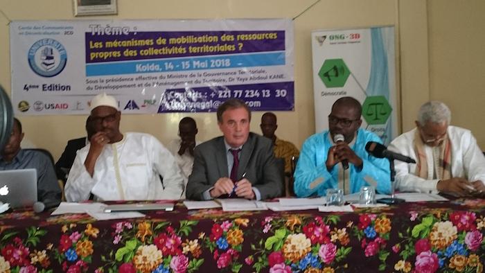 Kolda : Le cercle des communicants en décentralisation offre un cadre d'échanges aux élus locaux dans la mobilisation des ressources propres