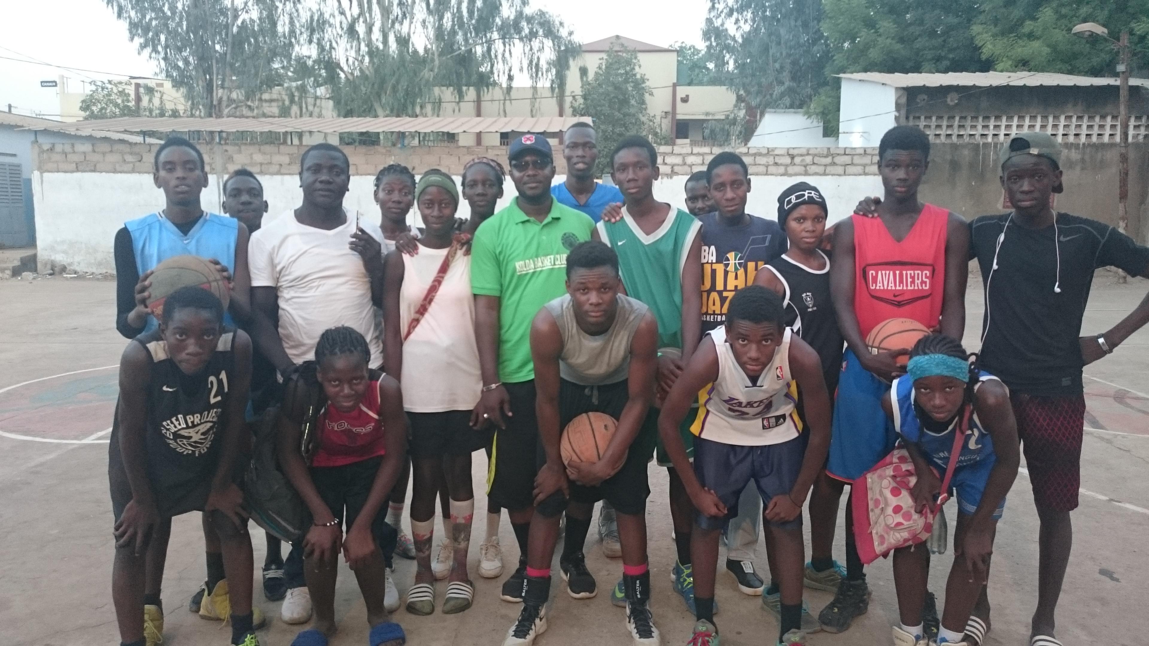 Kolda : Les basketteurs égrènent leurs ambitions et doléances pour booster leur discipline