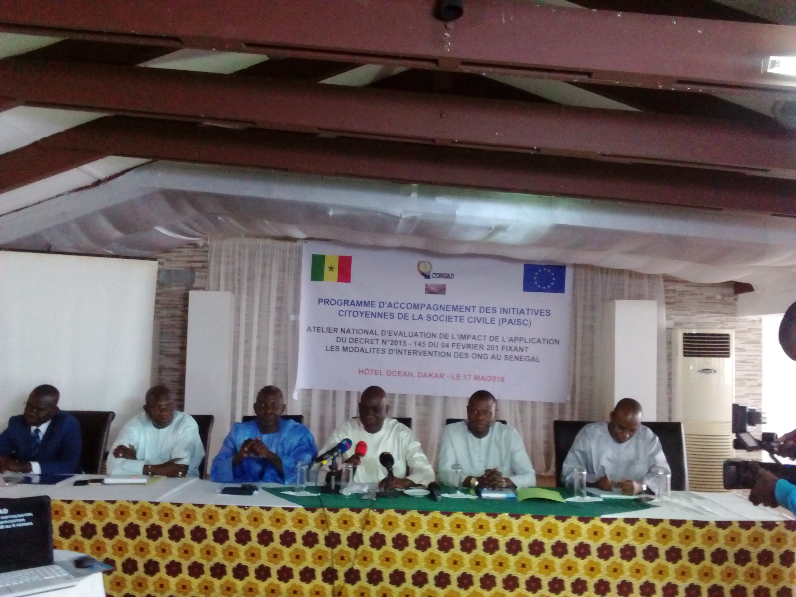 Cadre d'intervention des Ong au Sénégal  Le Congad s'accorde avec l'Etat sur les modalités du décret y afférent
