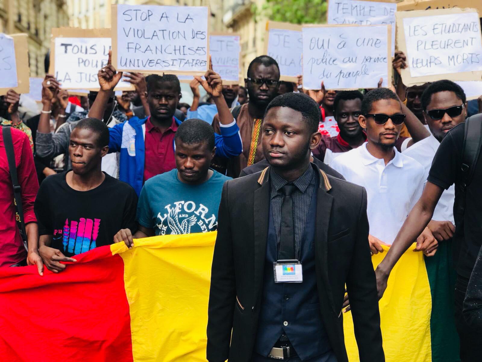 Balla Gaye, Bassirou Faye, Fallou Sène : « Plus jamais ça ! », tel est le cri du cœur des étudiants sénégalais en France