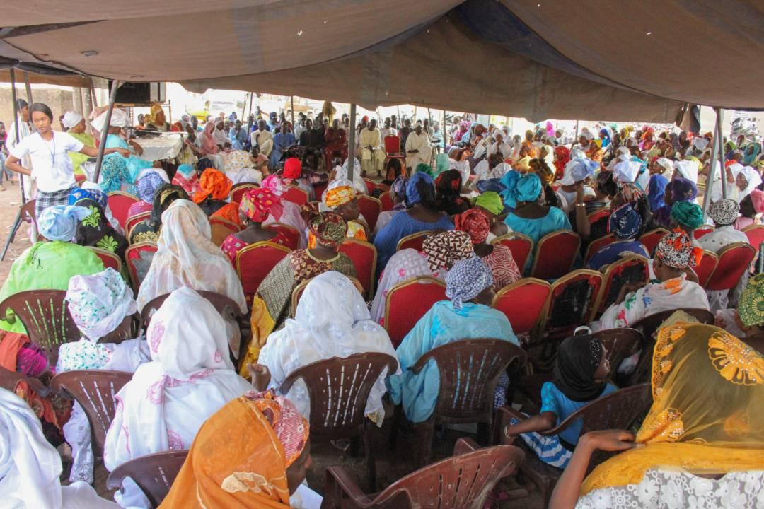 Grande conférence religieuse des femmes de Anka Wouli Tambacounda, proches du DG Kasse animée par Seyda Aissatou Gueye