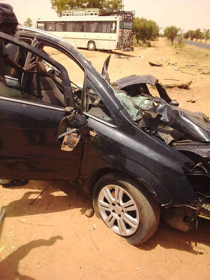 Un accident violent fait deux morts à Mbacké