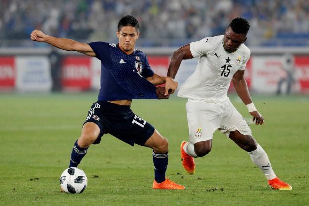 Adversaire des Lions au Mondial, le Japon battu en amical (2-0) par le Ghana