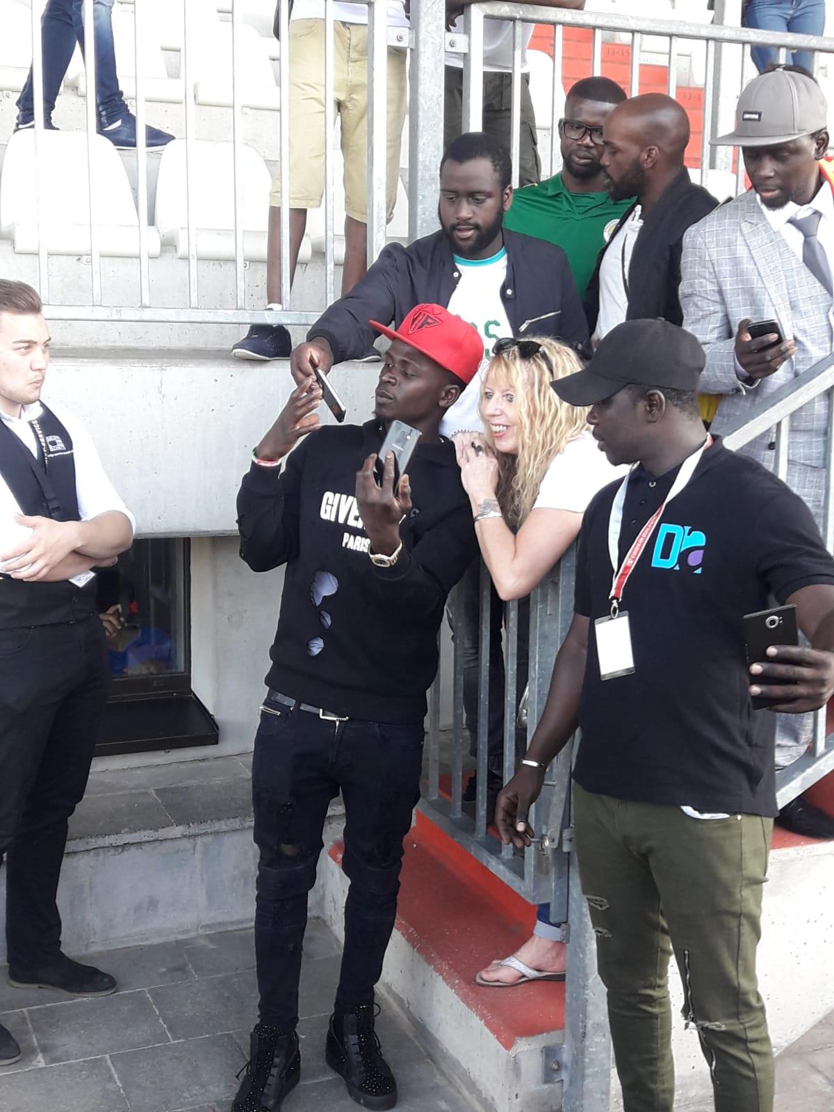 Les images d'avant match Luxembourg Vs Sénégal