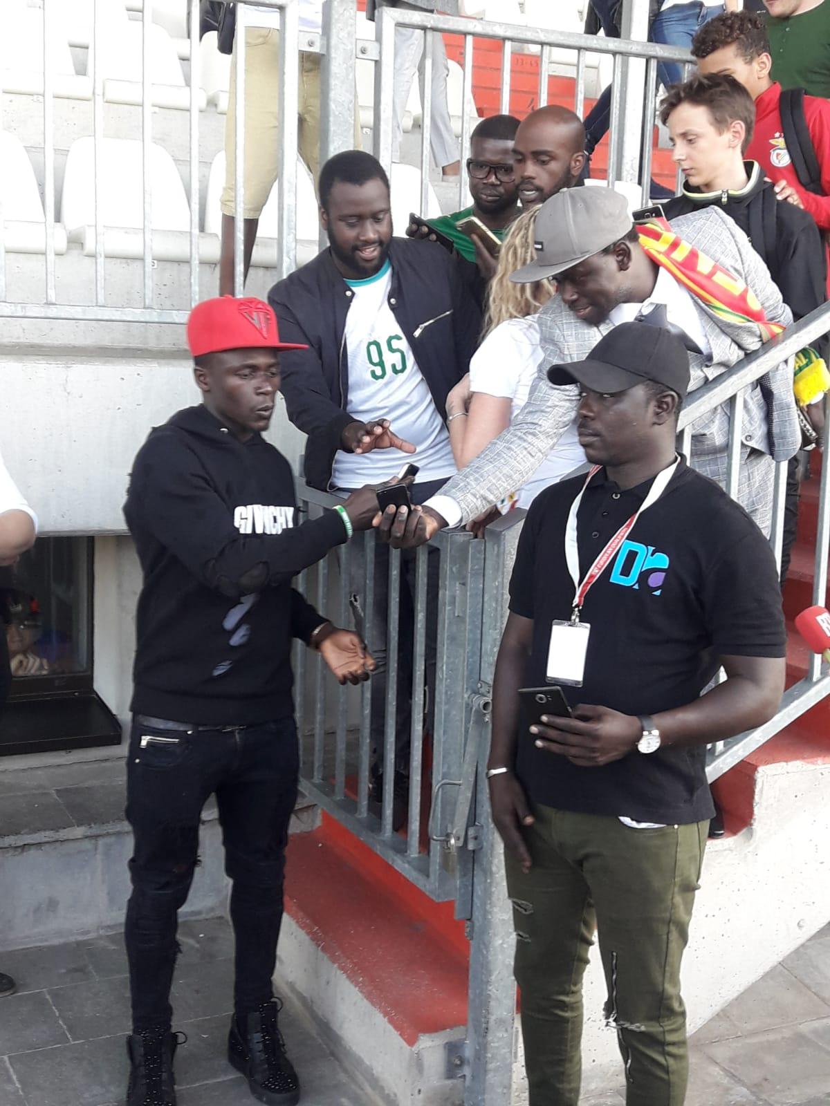 Luxembourg-Sénégal : Sadio Mané au stade, l'attraction