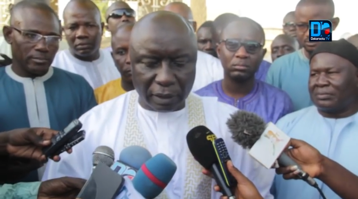 Urgent ! Idy déchiffre le message de Touba et demande pardon à Serigne Mbaye Sy Mansour