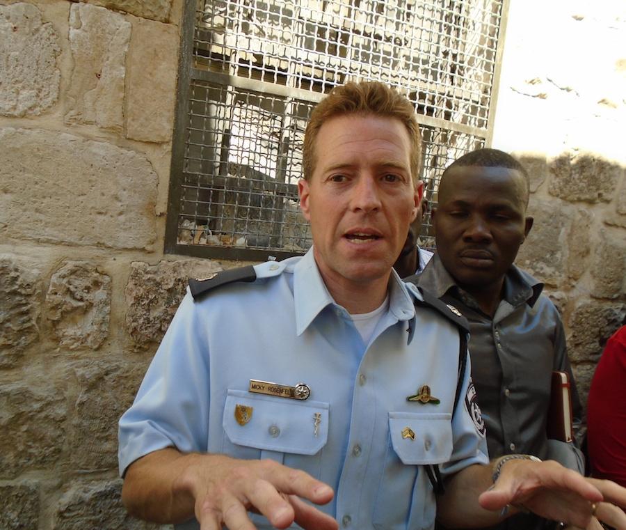 Jérusalem / Terrorisme, lieux de pèlerinage : Dakaractu s'entretient avec le porte-parole de la police israélienne