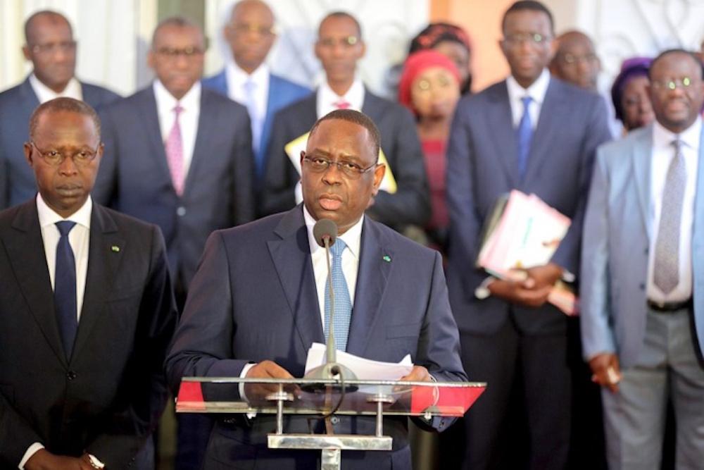 Parrainage : Macky Sall demande le retrait de la loi