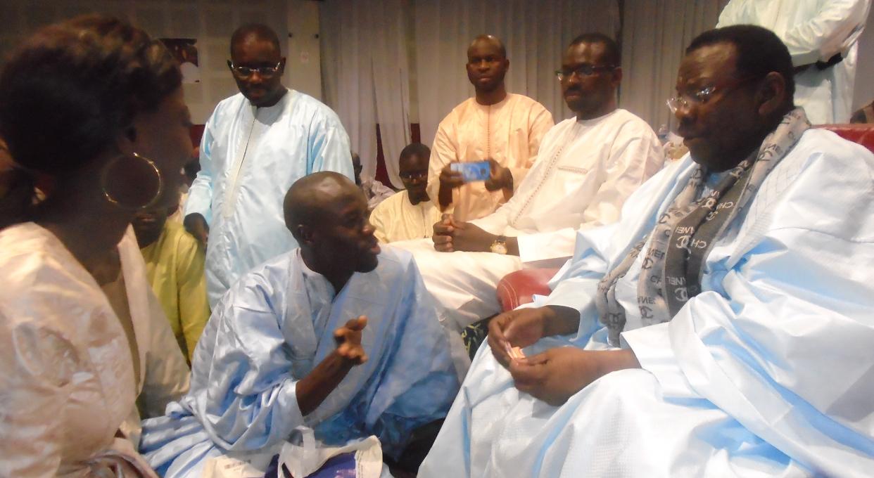 Laylatoul Qadr à Bordeaux : Les Thiantacônes en communion avec leur guide, Cheikh Béthio Thioune