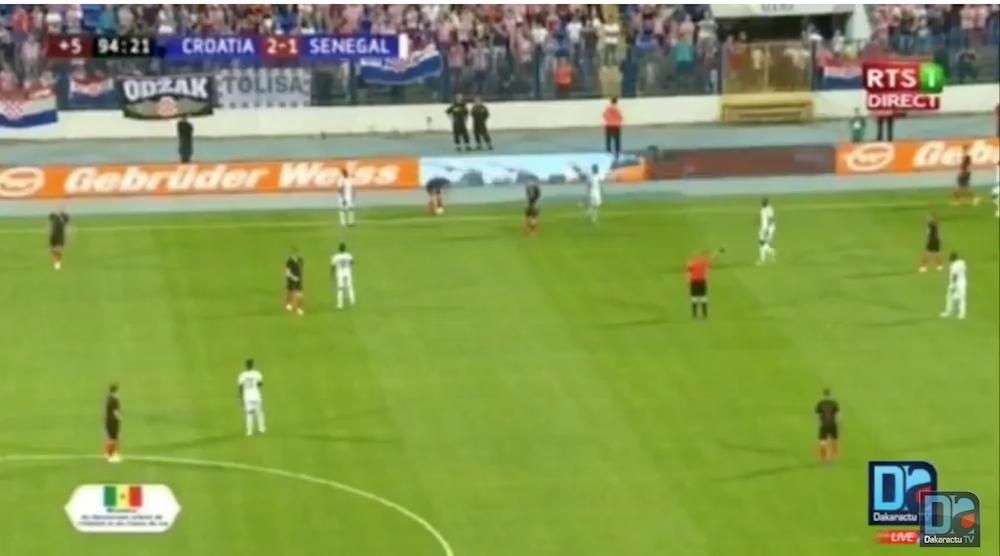 MATCH AMICAL : Le Sénégal battu par la Croatie (1-2)