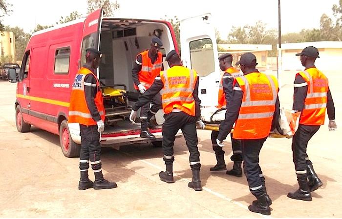 Tambacounda : Deux personnes meurent carbonisées après une collision entre un camion et une fourgonnette