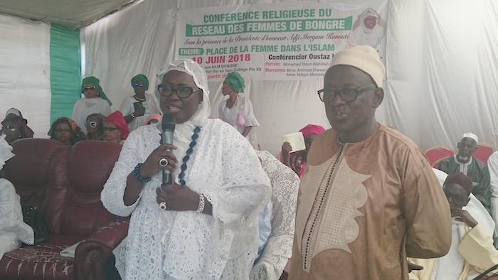 Conférence religieuse à Kaolack : La députée Adji Mergane Kanouté demande à l'opposition de répondre à l'invitation du chef de l'État pour des concertations sur l'application du parrainage