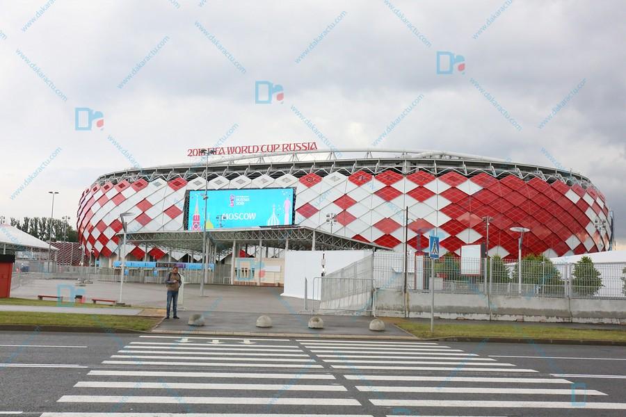 CM 2018 : Moscou vibre déjà pour le Mondial de football