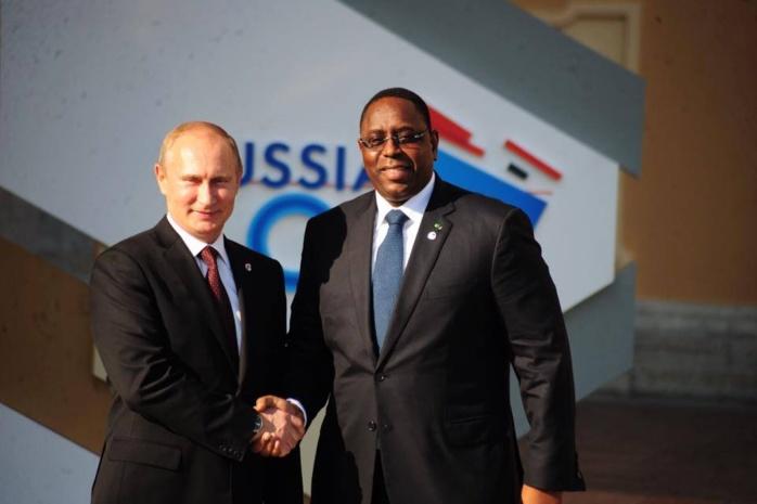 En marge de la Coupe du Monde, rencontre au sommet entre Macky Sall et son homologue Poutine