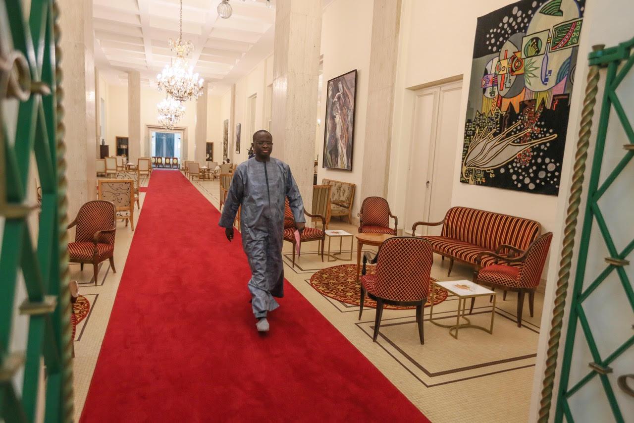 Macky déroule le tapis rouge à Diagne Fada, ce dernier « satisfait » de l'accueil (Images)