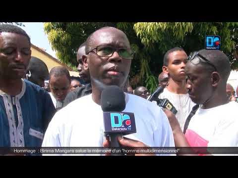 EL HADJ DIA (Apr Bambey) : 'L' axe Bambey/Diourbel/Touba a besoin d'un homme comme Birima Mangara en 2019 pour un passage au 1er tour du Président Sall '
