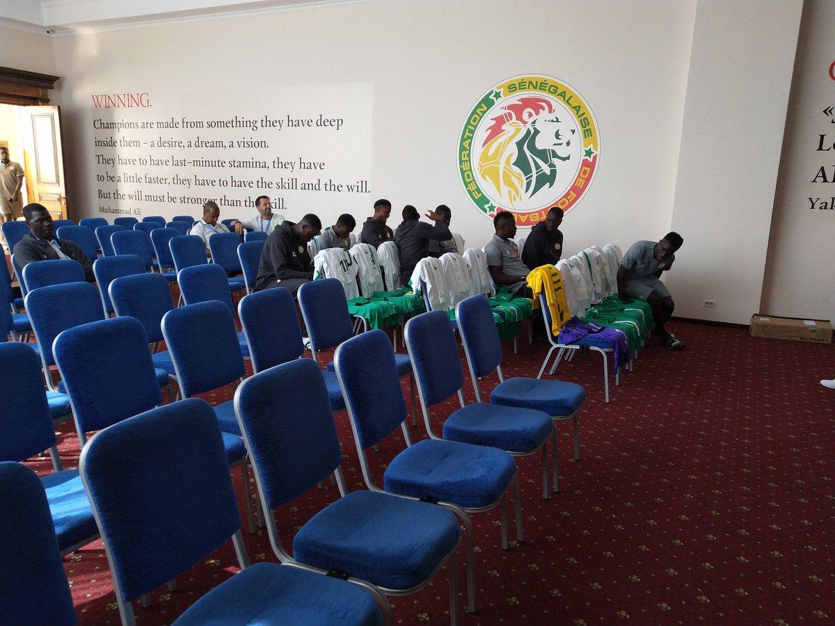 RUSSIE 2018 : La délégation sénégalaise assiste à une projection d'une vidéo sur l'arbitrage
