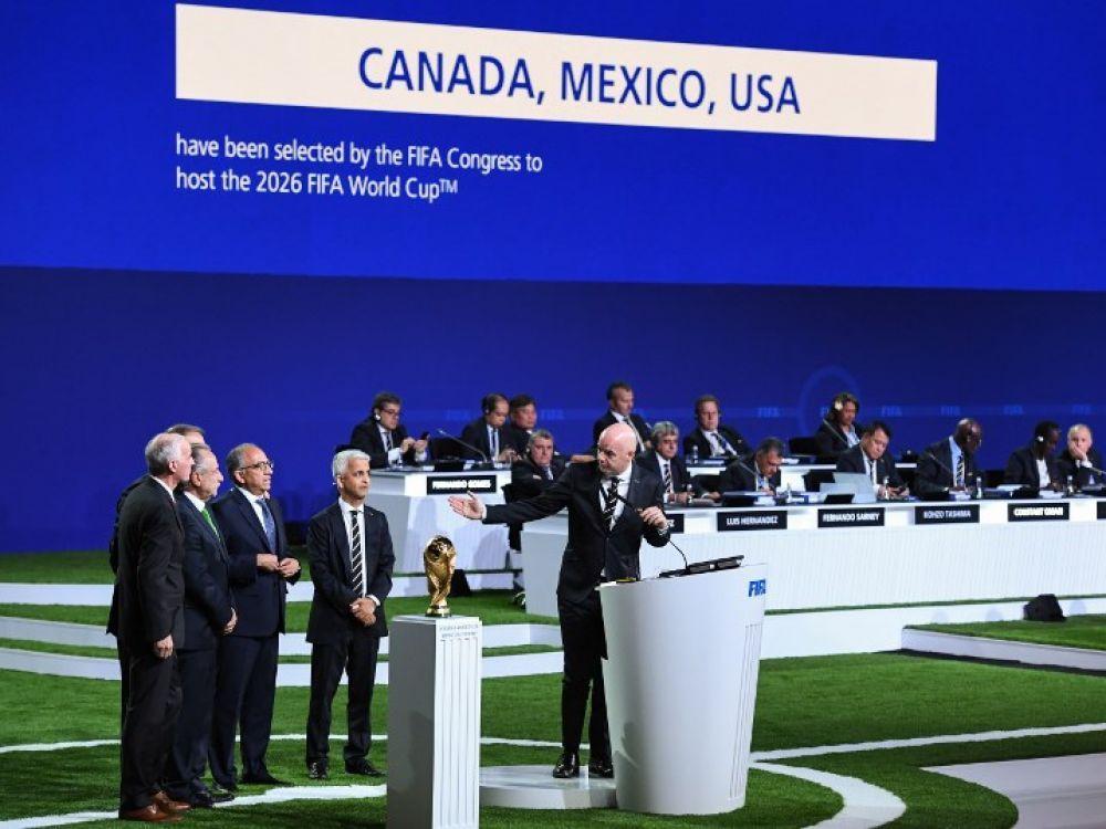 La Coupe du monde 2026 sera organisée par le trio Etats-Unis Mexique et Canada