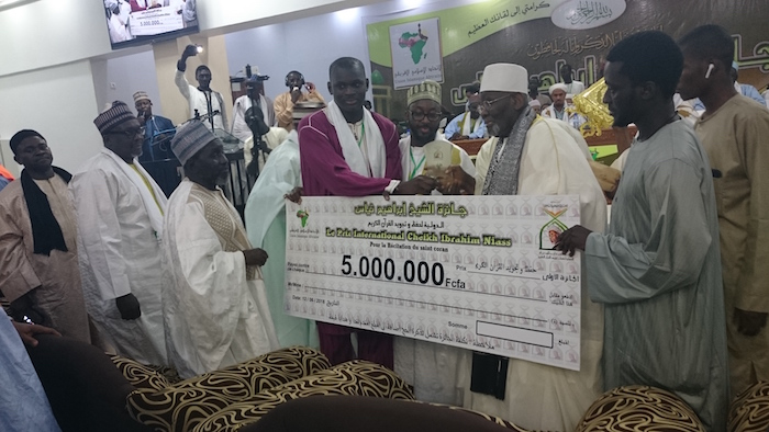 Concours récital du Saint Coran : Un jeune gambien remporte le prix international Cheikh Ibrahim Niass