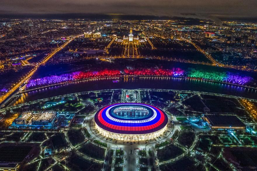 OUVERTURE DE LA COUPE DU MONDE 2018 DE FOOTBALL : добро пожаловать !