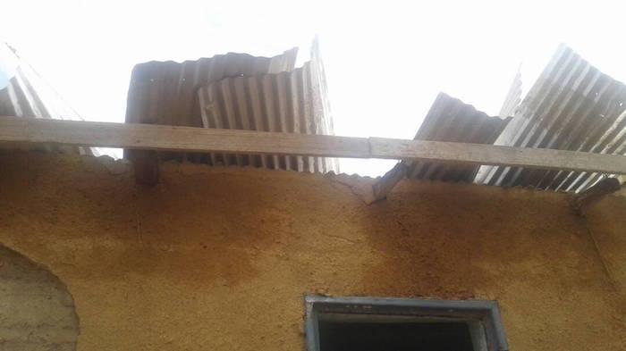 Khossanto: Les villages de Lefakho et de Niamaya dévastés par une tornade et occasionné  un blessé léger.