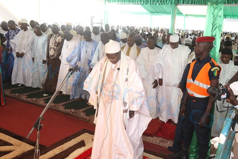 Les images de la célébration de la prière de l'Aïd El Fitr à Massalikoul Djinane