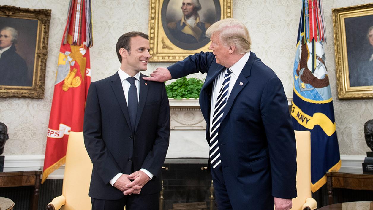 """Trump à Macron : """"Tous les terroristes sont à Paris"""""""