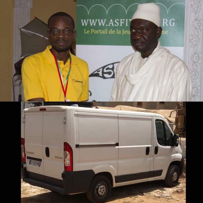 MÉDIAS - Serigne Djamil Sy offre un véhicule à Asfyahi Télévision