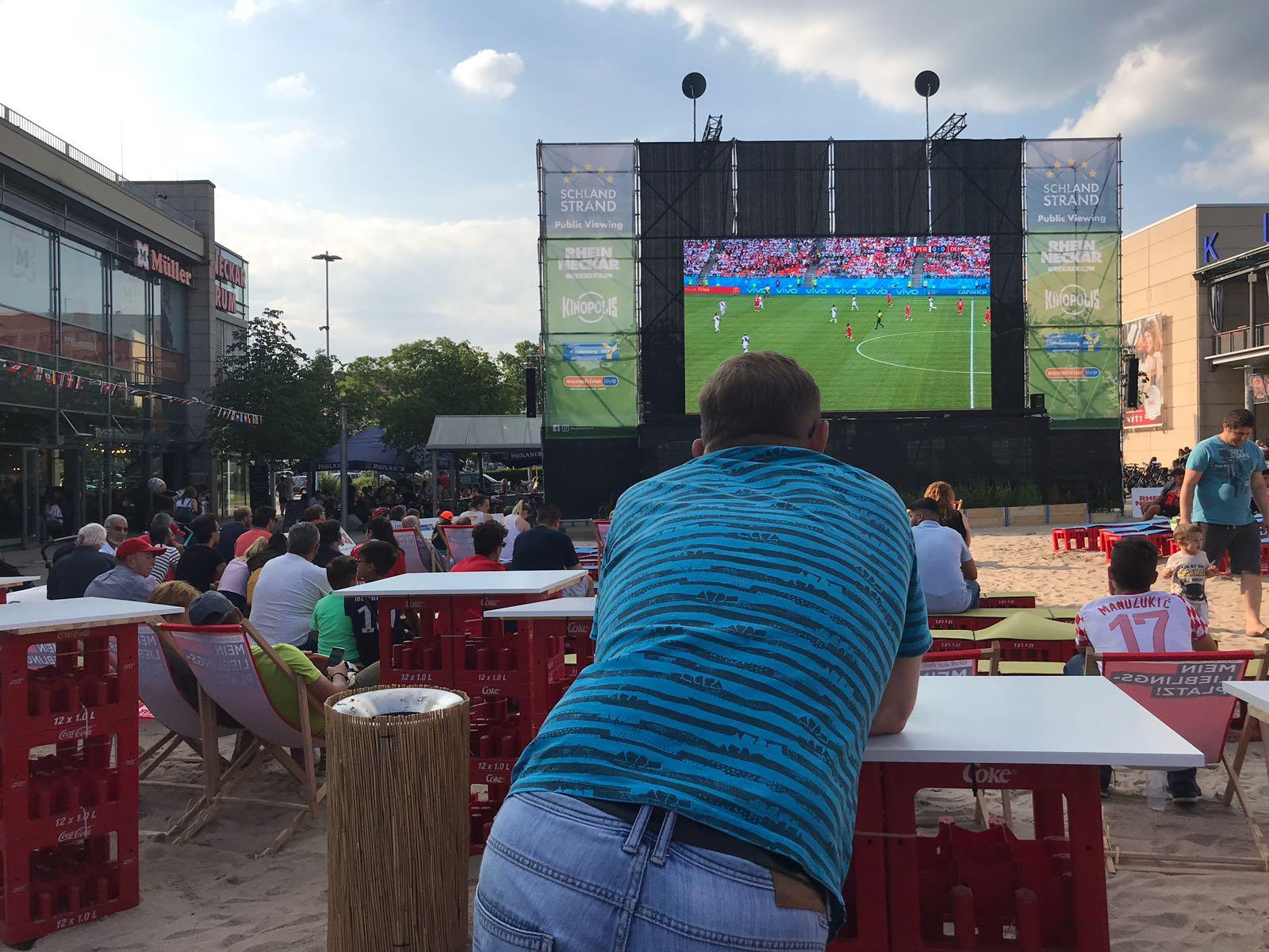 CDM 2018 / Sénégal-Pologne : Les sénégalais d'Allemagne montent leur Fan zone
