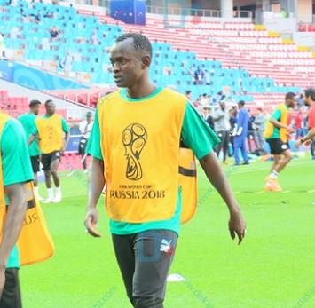 Le premier entraînement de Adama Mbengue avec les Lions