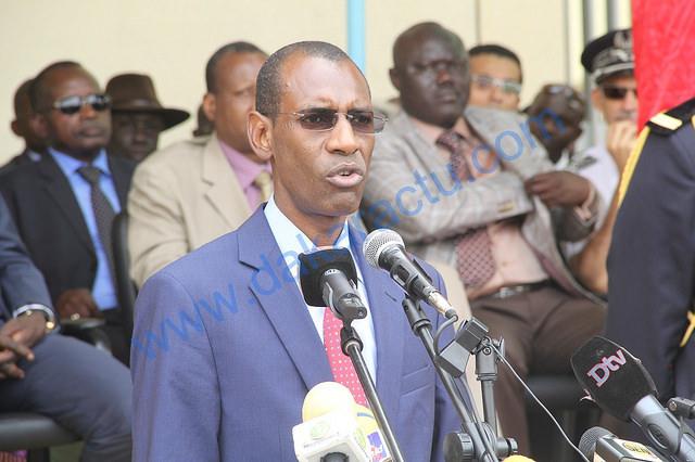 """Abdoulaye Daouda Diallo sur le pont de Farafégny : """"On a bon espoir qu'on puisse réceptionner le pont d'ici la fin de l'année!"""""""