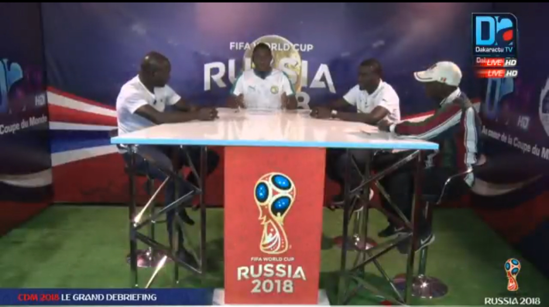 replay coupe du monde russia 2018 revivez sur dakaractu le grand d briefing du 19 juin 2018. Black Bedroom Furniture Sets. Home Design Ideas