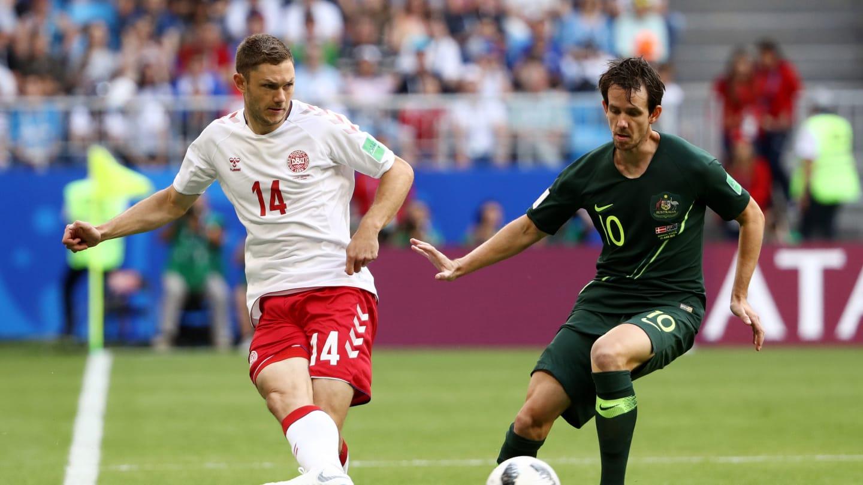 COUPE DU MONDE :  le Danemark concède le nul face à l'Australie (1-1)