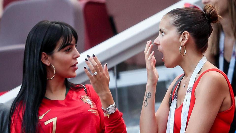 La compagne de Ronaldo exhibe un diamant en tribune, mariage en vue?